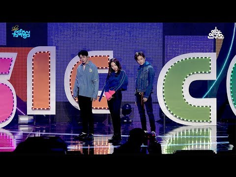 [예능연구소 직캠] 옹성우 미나 마크 스페셜 스테이지 @쇼!음악중심_20180224 Special stage 3MC in 4K