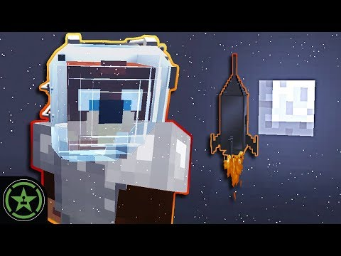 To the Moon! - Minecraft - Galacticraft Part 10 (#334) | Let's Play