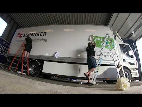 New Volvo e-truck for the DB Schenker Hub in Olso
