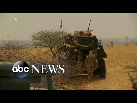 American tourist freed in raid by French forces in Burkina Faso