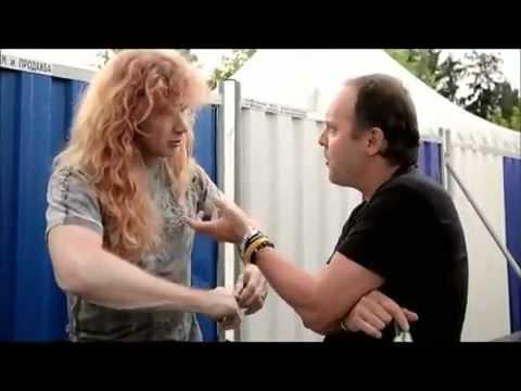 Megadeth Slayer Anthrax Metallica Big four Behind the scenes