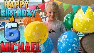 Michael's 6th Birthday!!!