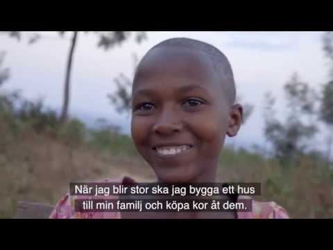 Sifa, fadderbarn i Rwanda - Plan International
