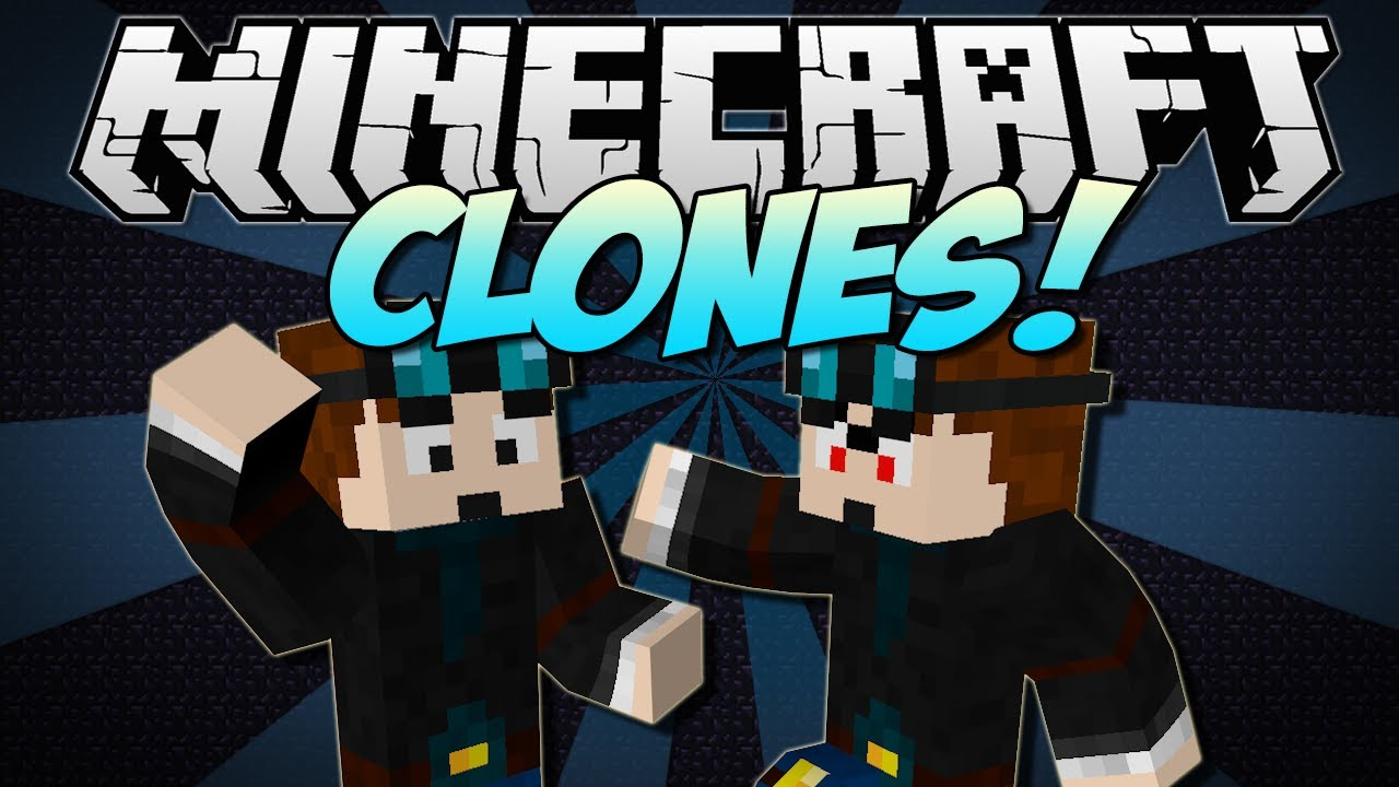 Minecraft | CLONES! (Copy Yourself Or ANY Mob!) | Mod ...