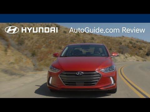 """""""Behind The Wheel"""" – AutoGuide.com Review   Elantra 2017"""