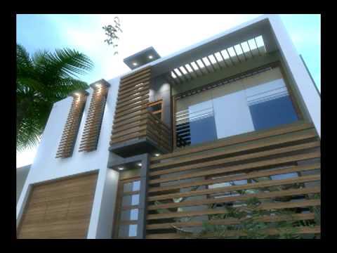 Casa moderna y minimalista remodelacion animacion 3d for Casa minimalista 4 5x15