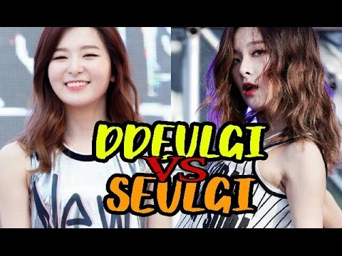 Ddeulgi VS Seulgi PART 1 [뜰기 vs 슬기]