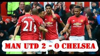 ⚽ Tổng hợp trận đấu Manchester United vs Chelsea 2-0 - All Goals & Extended Highlights -