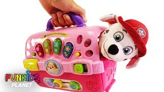 Paw Patrol Skye, Chase & Marshall Dog Carriers Playset