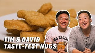 Do Timothy DeLaGhetto & David So Know Where These Nuggets are From? || Down the Hatch
