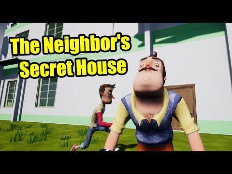 The Neighbor's Secret House   Hello Neighbor House Mod Trailer