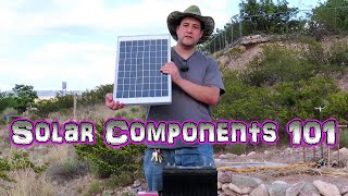 Solar 101 - System Basics - 4 Pieces Making up a Solar System - Ground Zero Solar 001