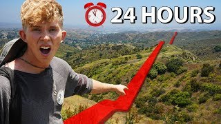 Picking a Direction and Walking Straight for 24 Hours!!