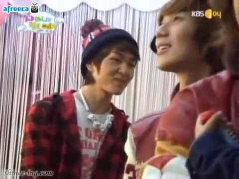 Baby YooGeun didn't want to leave Minho appa