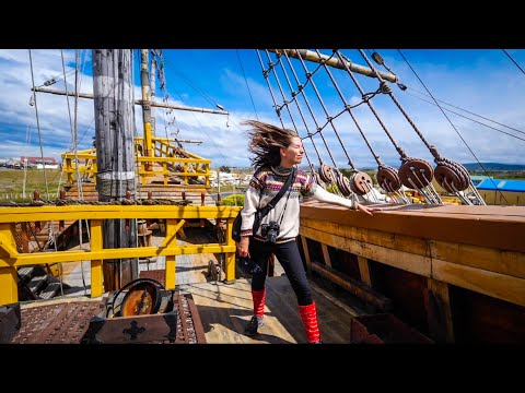 48 Hours in PUNTA ARENAS, Chile 🇨🇱   Eating CHILEAN FOOD 😋 + Touring Historic SEAFARING SHIPS ⚓