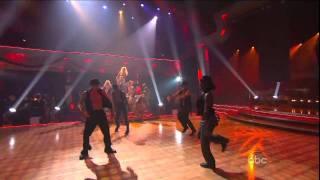 Christina Aguilera Show Me How You Burlesque (Live DWTS) HD
