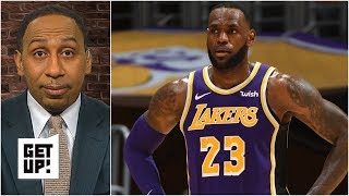 Lakers fans not buying into LeBron James – Stephen A. | Get Up!
