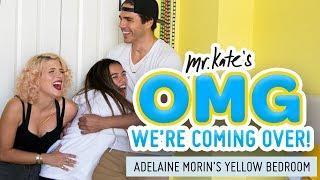 Adelaine Morin's Hello Yellow Bedroom Makeover | OMG We're Coming Over | Mr. Kate