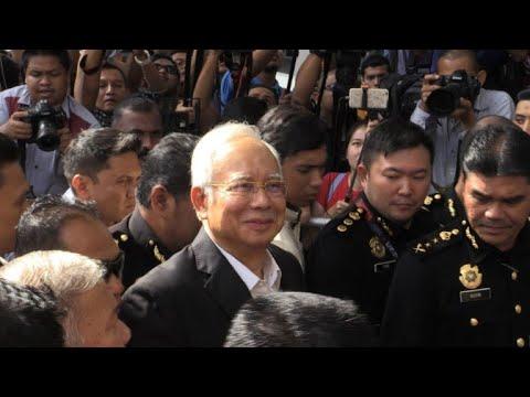 توقيف رئيس وزراء ماليزيا السابق نجيب رزاق في إطار فضيحة الصندوق السيادي