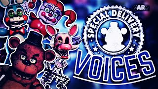 FNaF AR: Special Delivery - Voices UPDATED - (Animated Slideshow Style)