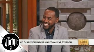 Amin Elhassan: Boston Celtics' identity embodied in Marcus Smart | The Jump | ESPN