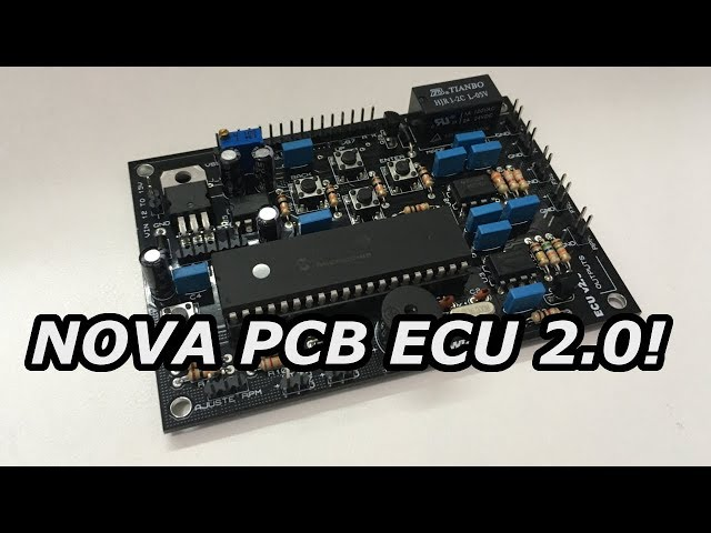 NOVA PLACA INJETOR AUTOMOTIVO 2.0 DISPONÍVEL! PCBWAY