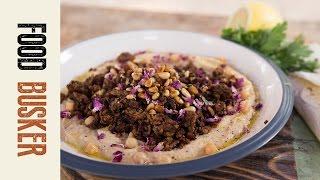 Spicy Lamb & Hummus | Food Busker