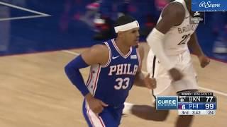 Tobias Harris   Round 1 Game 2 Highlights vs Brooklyn Nets (4.15.19)