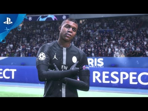 FIFA 19 - Champions Rise This Holiday ft. Neymar Jr & Mbappe | PS4