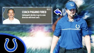 I FIRED CHUCK PAGANO! Madden 18 Colts Connected Franchise Ep. 20 (S2)