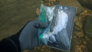 River Hunting: Found 4 iPhones, 2 Cameras, Wallet, and lots of MONEY!