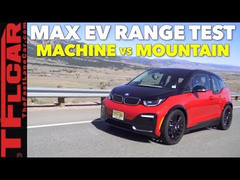 Machine vs Mountain: How Far Can a BMW i3 Go On a Single Charge...Up a Mountain?