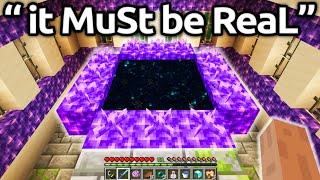 The MOST HILARIOUS Fake Minecraft Speedruns EVER...