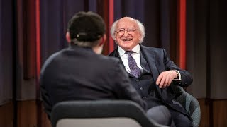 Tommy speaks to President of Ireland, Michael D. Higgins   The Tommy Tiernan Show   RTÉ One