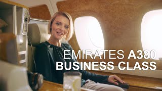 Emirates Airline A380 Business Class Experience