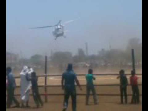 Maharashtra CM Devendra Fadnavis' Helicopter crash-lands in Latur
