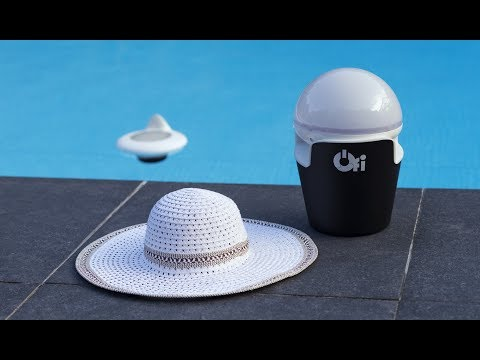 video Test capteur piscine Ofi Light: l'objet flottant intelligent