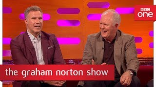 John Lithgow reveals he voiced Yoda - The Graham Norton Show: 2017 - BBC One