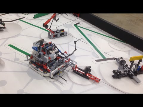FLL World Class 2014 | R-Cubed full run 542 points!