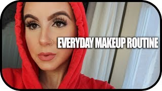 CHATTY GRWM 'MY EVERYDAY MAKEUP' & THOUGHTS ON DINA TAKING HER HIJAB OFF! | Amina Chebbi
