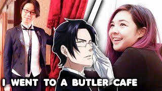 I Went to a Butler Cafe.