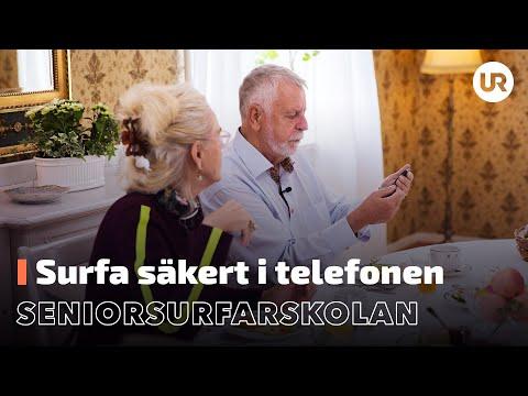Seniorsurfarskolan - Surfa säkert i telefonen