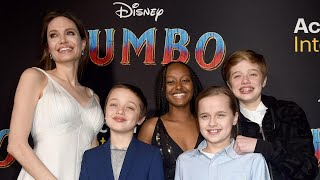 Angelina Jolie Turns Dumbo Premiere Into Family Night Out