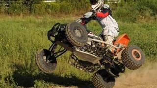 Acrobazie  col quad