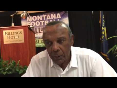 Harvey Munford inducted into the Montana Football Hall of Fame
