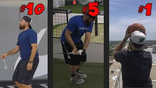 Top 10 Dude Perfect Trick Shots Of All Time!!!!