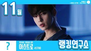 [랭킹연구소] 2019년 11월 보이그룹 순위 (남자아이돌 브랜드) | K-POP IDOL Boy Group Chart (November Brand)