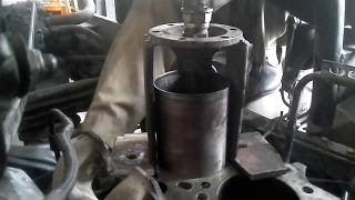 Dry Sleeve Cylinder Liner Removal