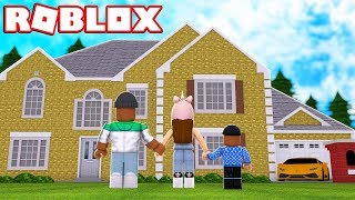 BUILDING OUR DREAM HOUSE IN ROBLOX
