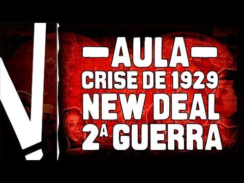 Crise de 1929, New Deal e a hegemonia dos EUA no pós-guerra